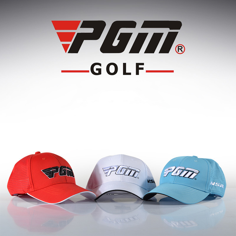 PGM Golf Colorful Cap For Men One Size Polyester Letter Summer Breathable Mans Sports Cap Golf Hat Casquette Gorras
