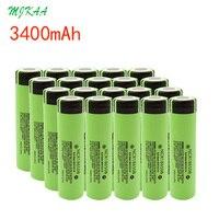 High Quality NCR18650B 3.7V 3400 Mah 3400mah Rechargeable Lithium Battery