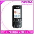 Восстановленное телефон Nokia 2700 Classic Оригинальный мобильный телефон оптовая 2700c Бесплатная Доставка