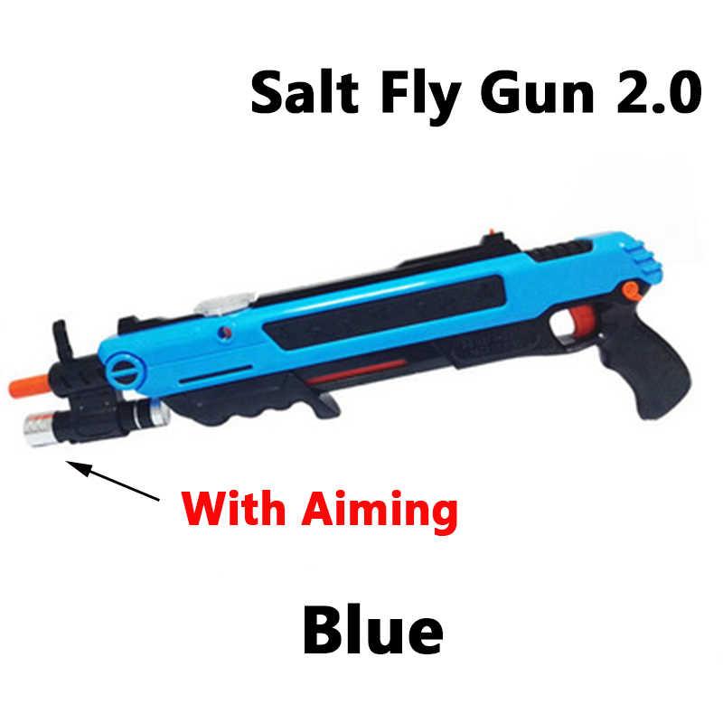 2019 חדש 11 סגנונות מלח לטוס אקדח & פלפל כדורים Blaster Airsoft עבור באג לפוצץ אקדח יתושים דגם צעצוע מלח אקדח מצלמה BagStrap תיק