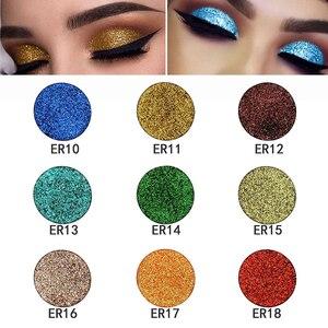 Popfeel 18 Colors Monochrome Eye Glitter Powder Women Beauty Eye Make Up Shinning Glitter Powder Makeup Palette TSLM1