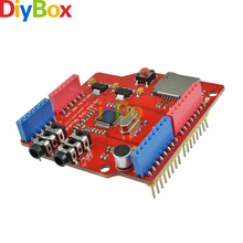 VS1053B MP3 Music Shield Stereo Audio Play Record Decode Expansion Board With TF Card Slot For Arduino UNO MEGA