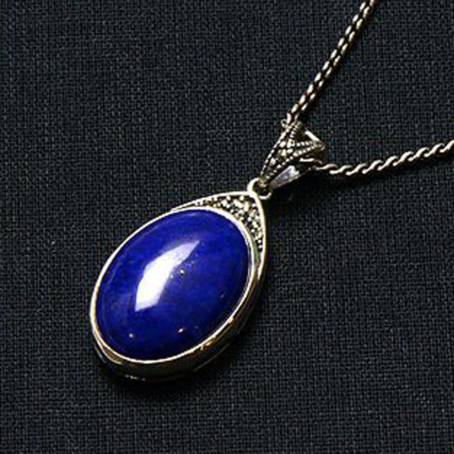 5a natural afghan lapis pendant 925 sterling silver vintage pendant 5a natural afghan lapis pendant 925 sterling silver vintage pendant b 08 115 ms mozeypictures Images