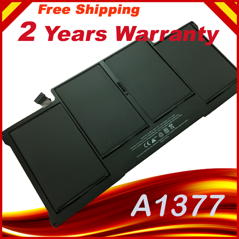 A1377 Battery for Apple MacBook Air 13A1369 (Late 2010) MC504 MC503 hsw rechargeable battery for apple for macbook air core i5 1 6 13 a1369 mid 2011 a1405 a1466 2012