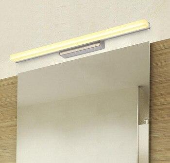 5 adet/grup 40/50/60/70/90cm 9W 12W AC85-265V LED Ayna Duvar ışıkları Işık Lamba Su Geçirmez SMD2835 Ev Banyo Aydınlatma