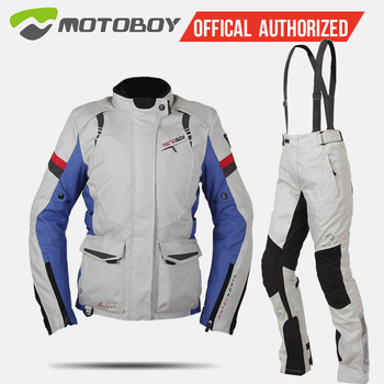 MOTOBOY motorcycle riding suit ladies four seasons warm waterproof shatter-resistant motorcycle clothing knight clothes