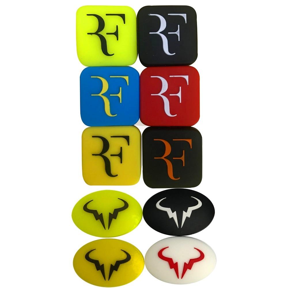Free Shipping(10pcs/lot)RF And Rafael Nadal Vibration Dampener