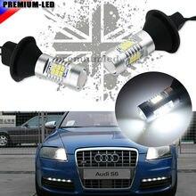 Без каких-либо дополнительных резистор требуется Ксенон Белый 1156 7506 P21W светодиодный лампы для Audi B7 A3 A4 A6 A8 Q7 S3 S4 S6 дневные огни