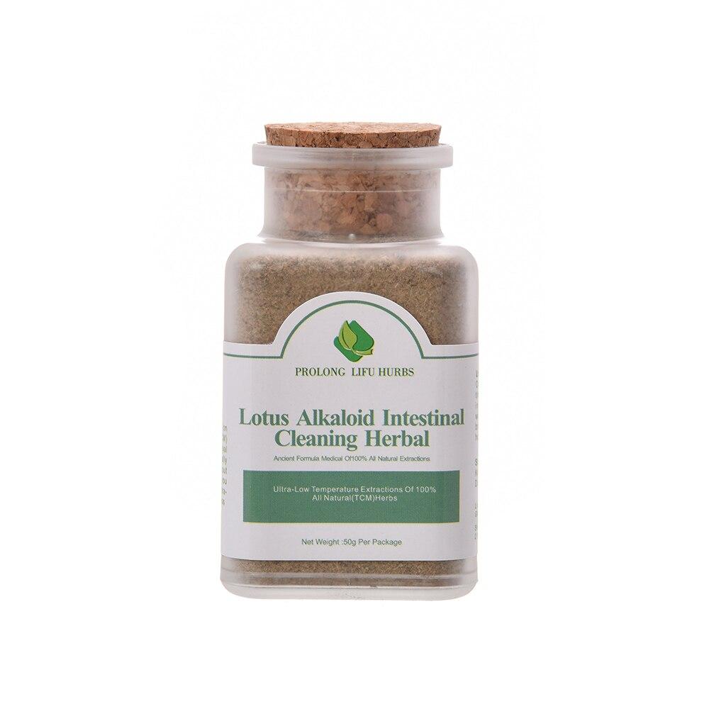 Prolong Lifu Lotus Alkaloid Intestinal Cleansing Herbal For Slimming, Detox Slim Formula Weight Loss Burning Fat Powder