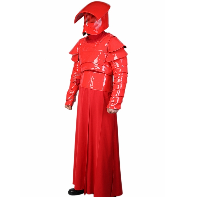X-COSTUME Star Wars Episode VIII: The Last Jedi Movie Elite Praetorian Guard Suit Outfit PU Leather & Terylene Cosplay Constumes 4