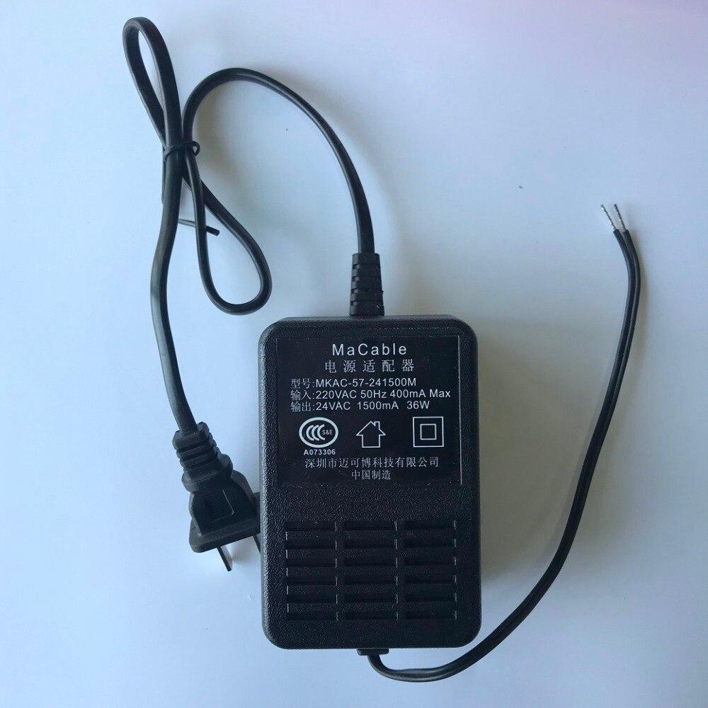 MACABLE MKAC 57 241500M power adapter for DS KB6003 WIP Door phone ...