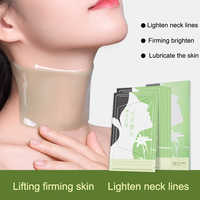 5 Pcs Anti Wrinkle Neck Mask Skin Care Nourishing Neck Skin Tightening Lift Firming Mask Effective Remove Cellulite Neck Mask