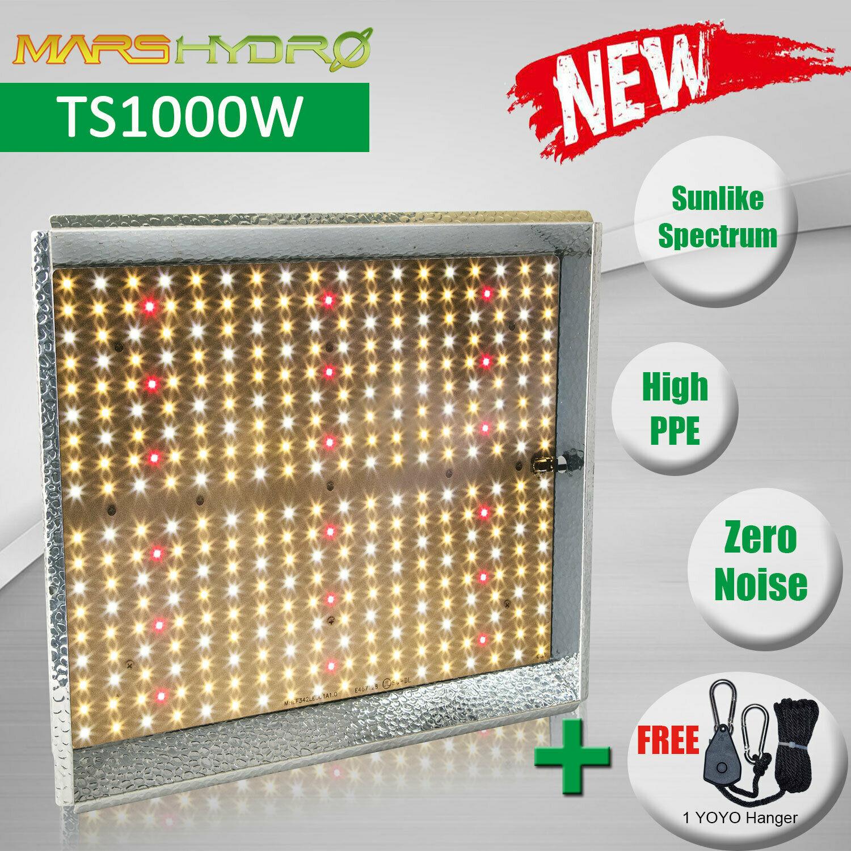 MarsHydro 2019 Mars Hydro TS 1000W 2000W LED Grow Light Full Spectrum Indoor Plants