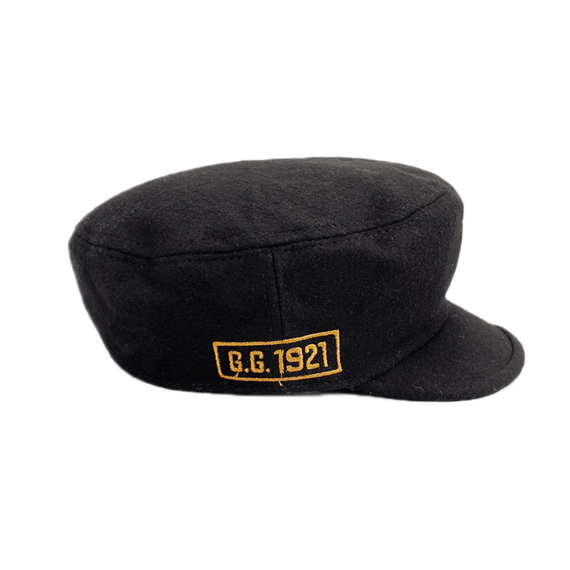 bdc056fcc09 Winter Warm Military Hat Men Black Color Flat Caps Women Embroidery Letter  Star Sailor Hat Gorras para Hombre Militar YY17265-in Military Hats from  Apparel ...