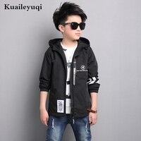 2017 New Sportswear Caot Boy Jacket Big Children Style Windbreaker Spring For Children S Clothing Girls