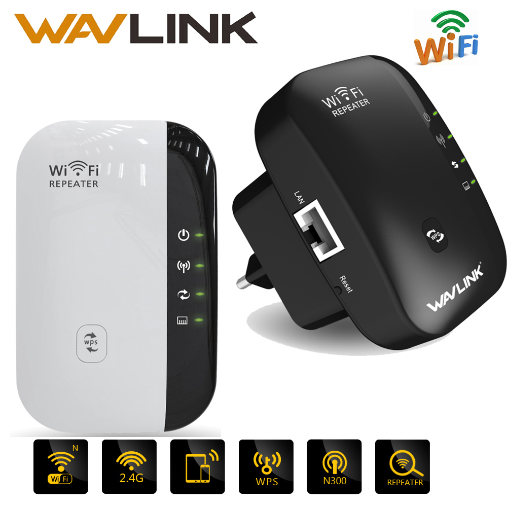 Wireless WiFi Repeater AP 300Mbps Signal Amplifier Wi-fi Range Extander 802.11n/b/g Signal Booster Repetidor Wifi Extender WPS цена