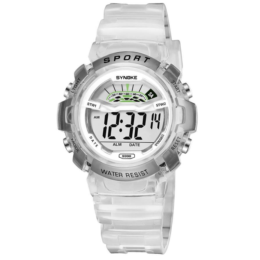 SYNOKE Children Boy Child Student Wodoodporny zegarek sportowy Data - Męskie zegarki - Zdjęcie 5