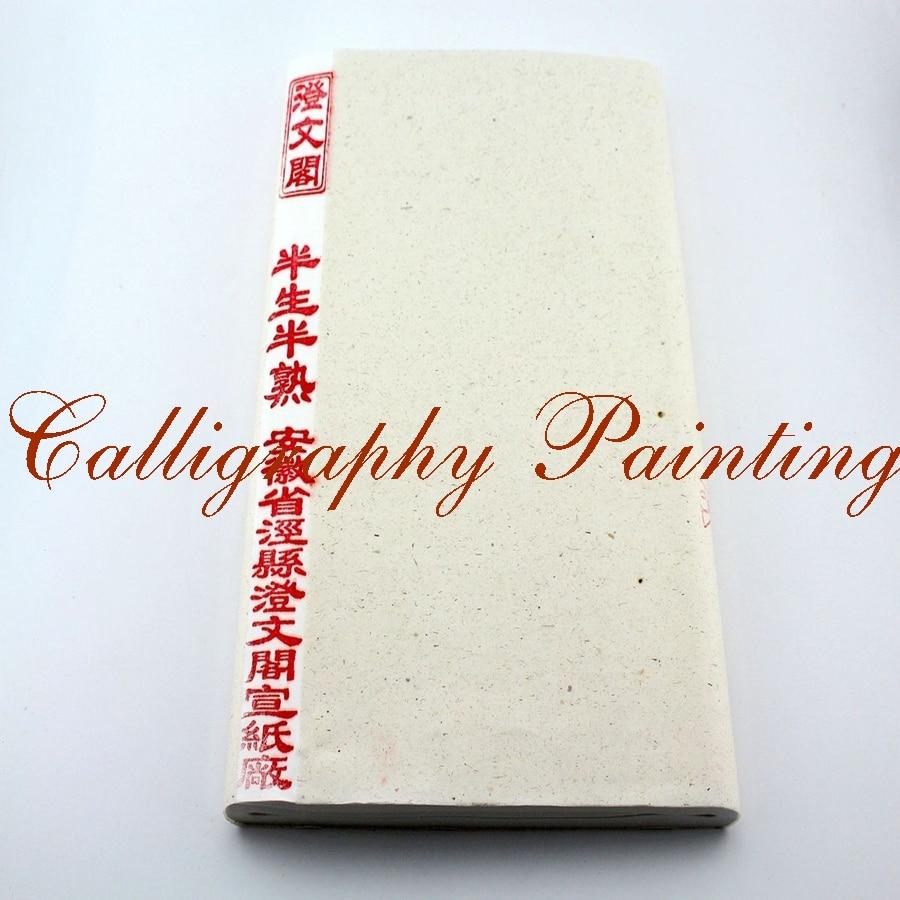 100 Sheet Xuan Paper Sumi-e Chinese Brush Painting Calligraphy 35x70cm wine kanglong prince xuan 4 100
