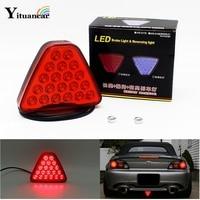 1Pcs 20 LEDs Car Truck Trailer Tail Light LED Brake Stop Signal Reversing Warning Lamp Red