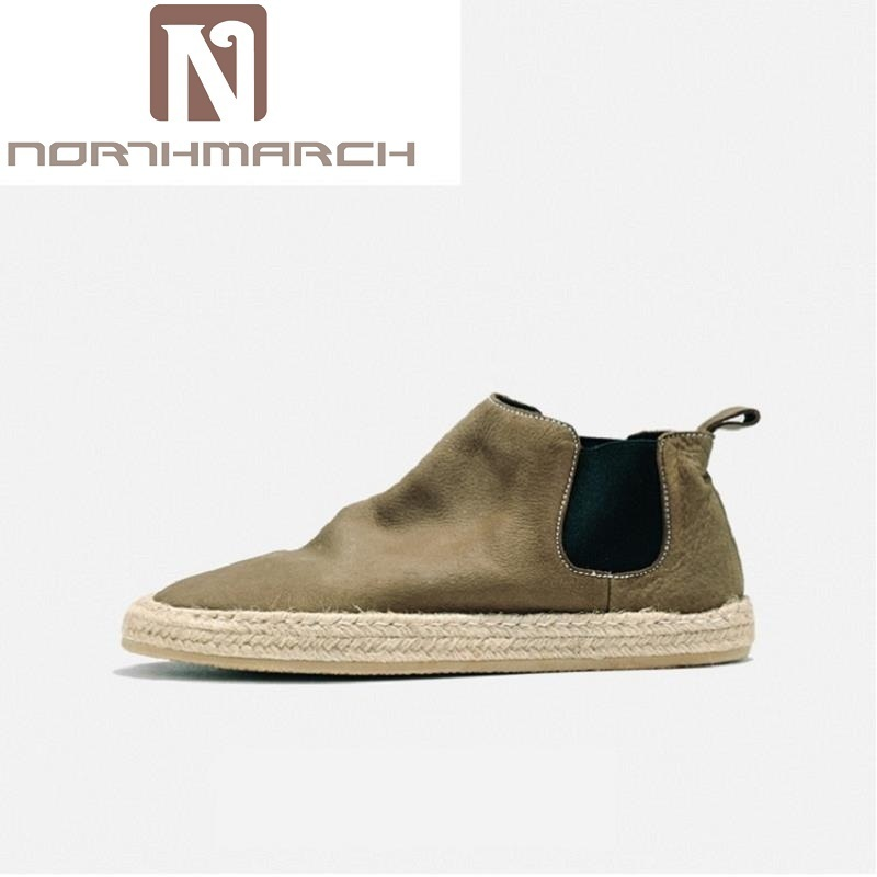 NORTHMARCH Men's Boots Casual Men Shoes Winter Soft Bottom Chelsea Boots Men British Style Leather Ankle Autumn Men Winter Boots zunyu new autumn winter men s chelsea boots luxury british style fashion ankle boots black brown blue soft leather casual shoes