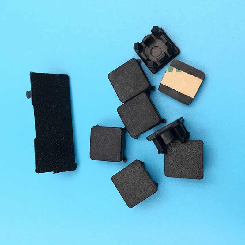 Для Playstation 3 PS3 тонкая резиновая подкладка для сапог ножки пластиковые крышки для винта комплект 9 шт. hdd Поворотная дверь