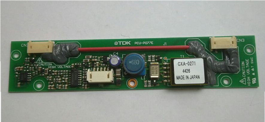 CXA-0271 PCU-P077E original TDK LCD Inverter Board cxa 0247 pcu p052d tdk lcd inverter high voltage switchboard
