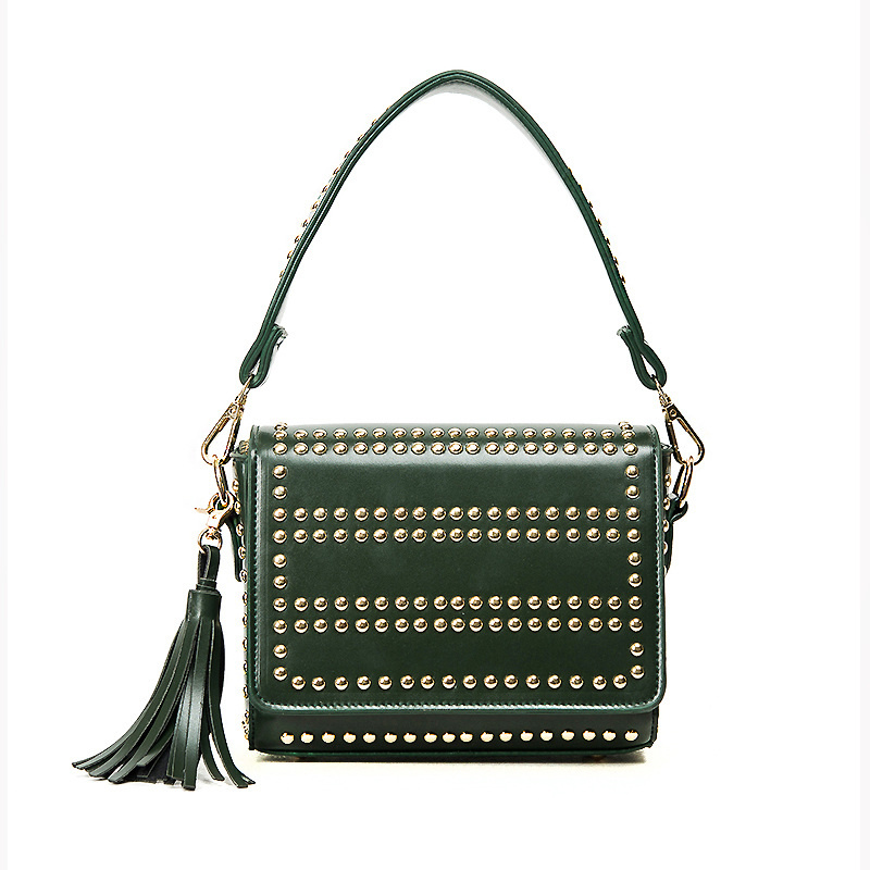 6d71b5bf5852 ARPIMALA 2017 Famous Brand Clutch Bag Designer Studded Bag Rivet Luxury  Punk Women Messenger Bags Black Fringe Ladies Hand Bags on Aliexpress.com