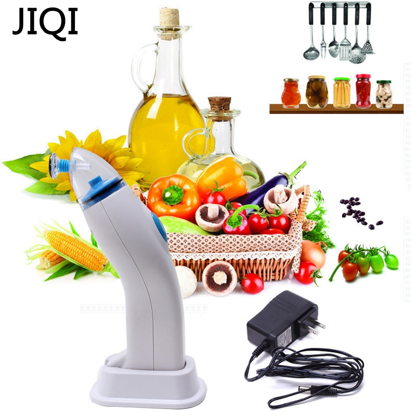 JIQI Food vacuum sealer machine with vacuum bags for free Best vacuum sealer freshness of the foods machine