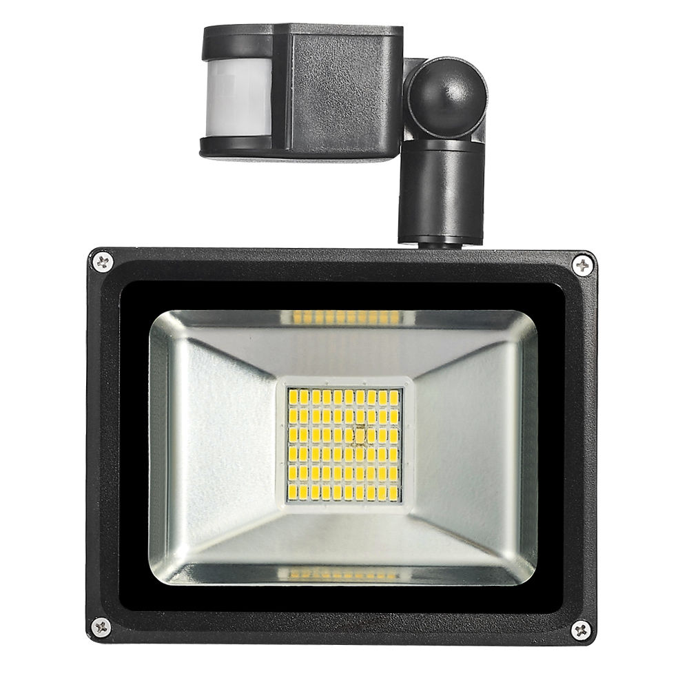 30W 220V-240V PIR Sensor de movimiento infrarrojo LED Luz de - Iluminación exterior - foto 4