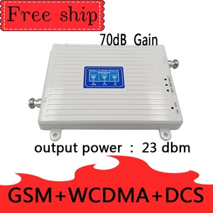 Image 2 - TFX BOOSTER GSM 900 LTE DCS 1800 WCDMA 2100mhz Triple band Cell Phone Signal Booster 2G 3G 4G  Mobile Cellular Signal Repeater