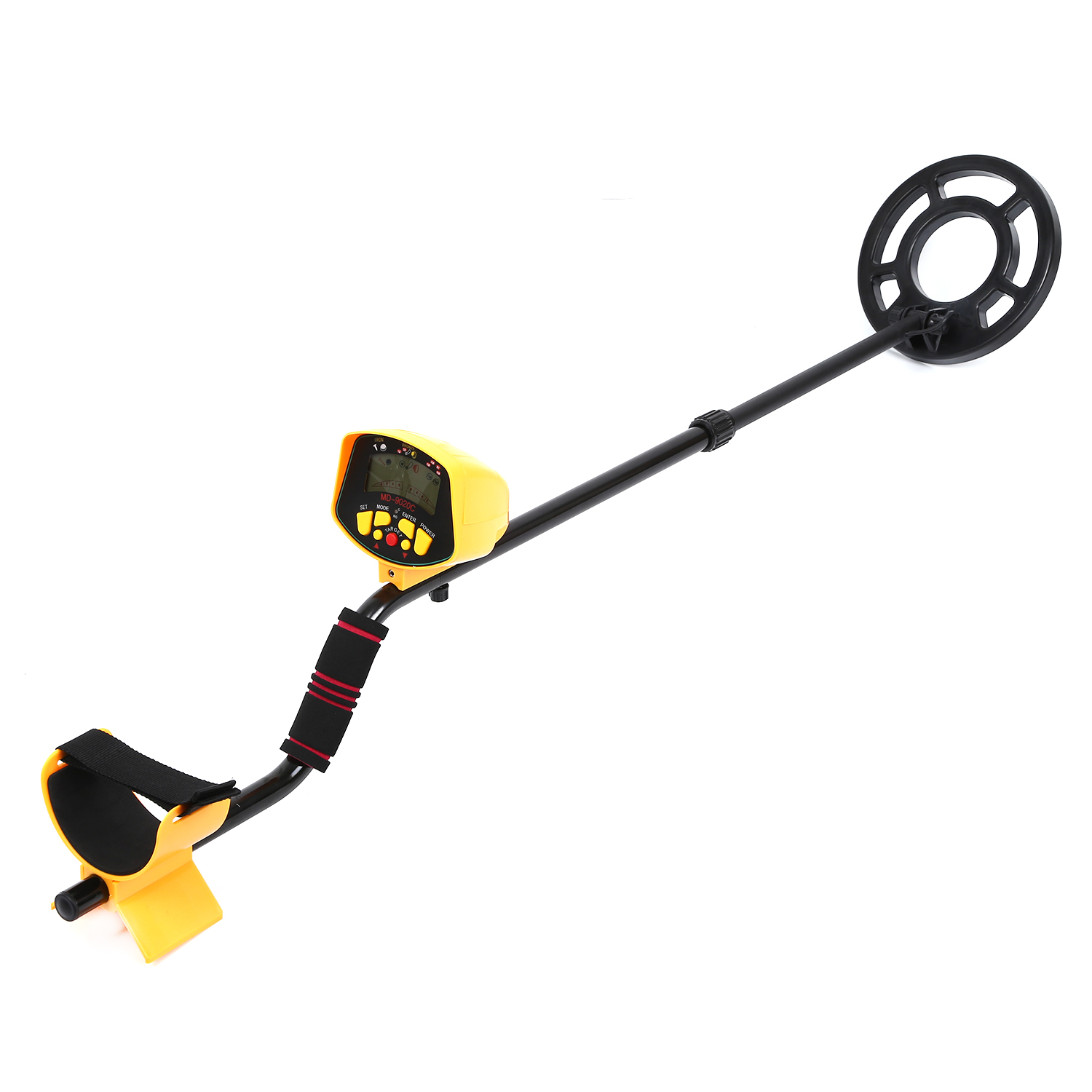 цена Professional Underground Metal Detector MD9020C Metal-Detector High Sensitivity LCD Display Treasure Gold Outdoor Treasure Hunt