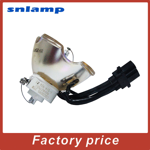 High quality Bare Projector lamp VLT XL650LP Bulb for XL650LP XL650U HL2750U WL2650 WL2650U WL639U XL2550U