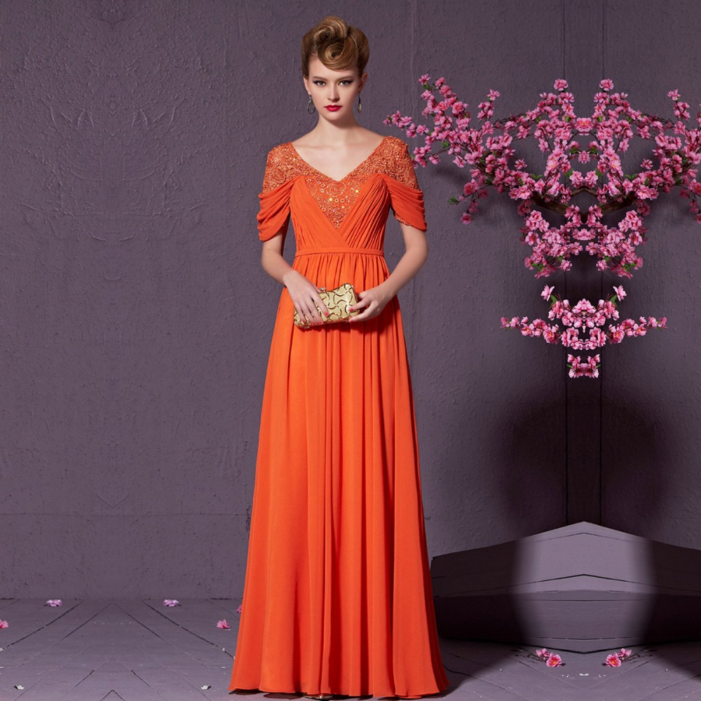 Asombroso Naranja Y Rosa Vestidos De Fiesta Adorno - Vestido de ...