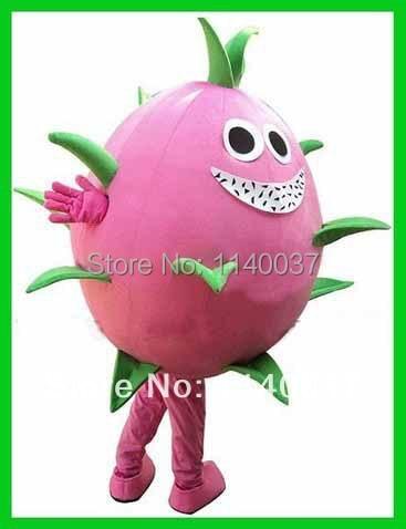 NO.1 MASCOT Pink Pitaya Cactus Dragon Fruit Pitaya Mascot Costume Dragon Fruit Pitaya Cartoon Character Fancy Dress