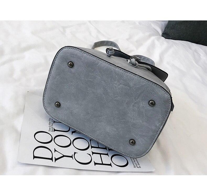 HTB1bz22bRKw3KVjSZTEq6AuRpXan Vintage Matte Leather Women Backpacks High Quality Multifunctional Shoulder Bag Female Girls Backpack Retro Schoolbag XA533H
