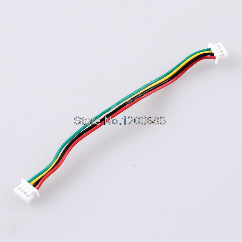 10 Set JST 1.25mm Pitch Male Connector Wire 15CM Long 4 Pin ...