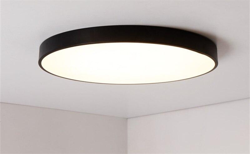 Plafoniere Led Da Ufficio : Acquista moderno semplice ultra sottile 5cm led lampada da soffitto
