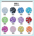 RX  100pcs/lot  fashion Logo brand name resin 3d nail accessories charm for diy nail design