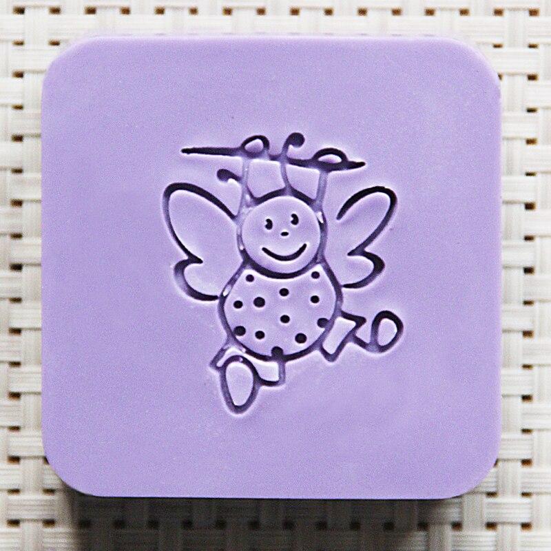 2016 free shipping natural handmade acrylic soap seal stamp mold chapter mini diy bee patterns organic glass 4X4 cm 0234 savannah bee company natural and organic peach blossom shimmer lip tint 0 09 ounce