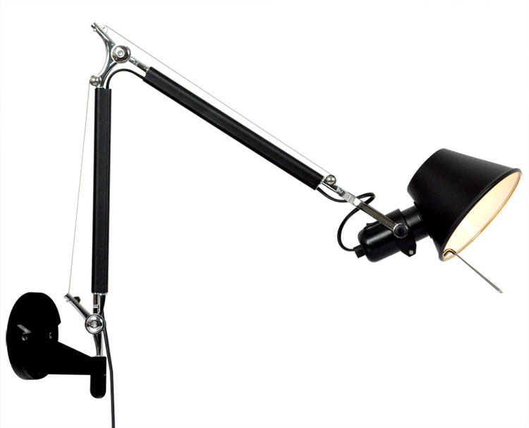 Retro Loft Industrial Vintage Led Wall Lamp light With58+56cm Long Arm Sconce Indoor Decoration Bar Restaurant Bedroom Art Lamp