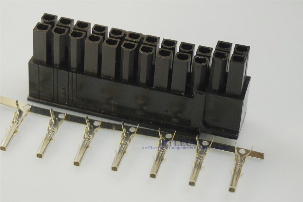 20 Set 5557//5559 4.2mm Connector for PC Computer ATX Graphics Card GPU
