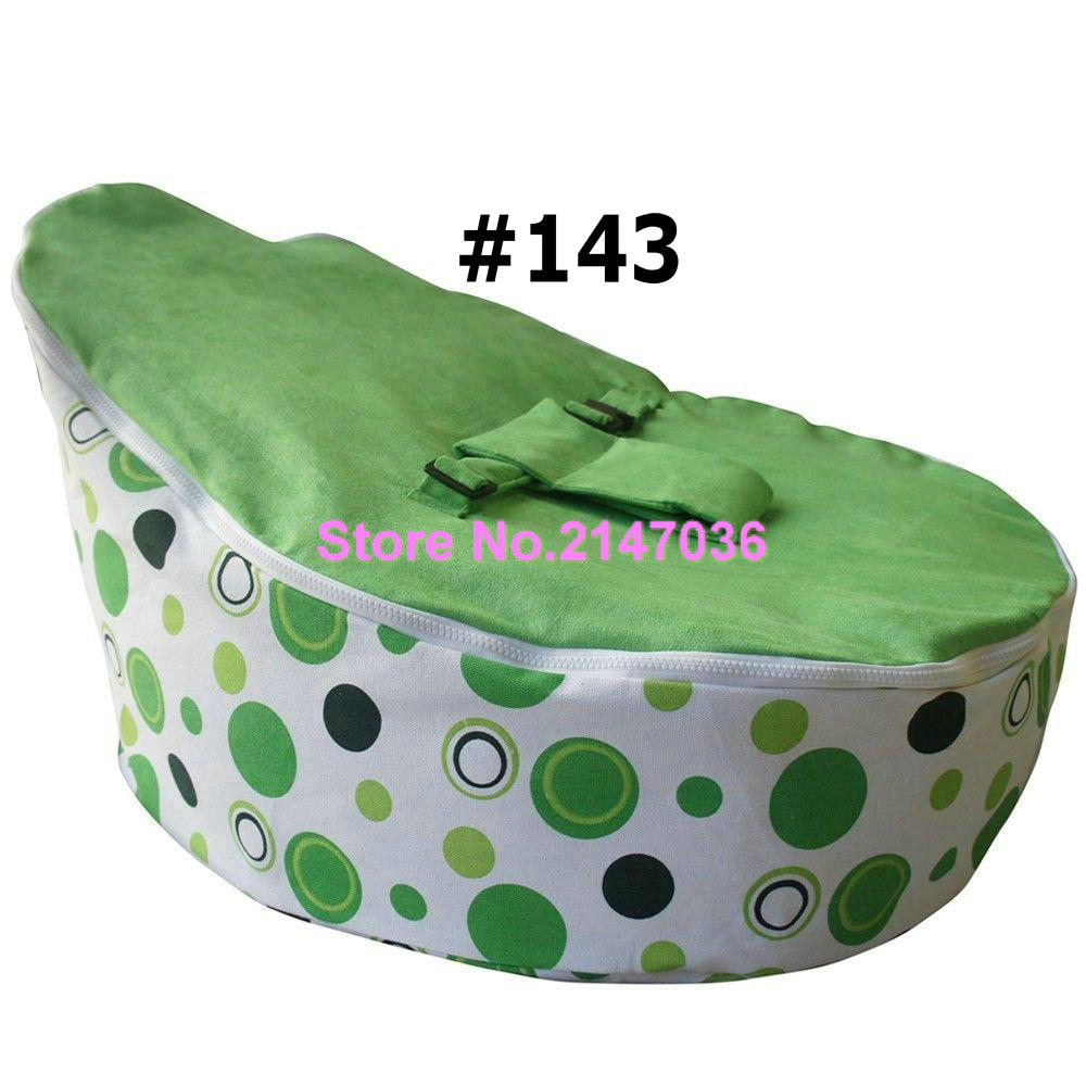 Superb Green Polka Dots Wholesale Custom Printed Faux Suede Beanbag Chair, Baby  Beanbag, Kids Bean Bag Sofa Seat In Living Room Sofas From Furniture On ...