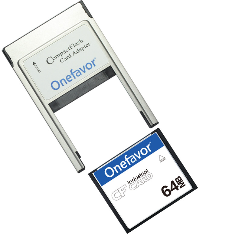 Image 2 - Small Capacity!!! 32MB 64MB 128MB 256MB 512MB Compact Flash Card Industrial CF Memory card With PCMCIA adapter Type II & Type I-in Memory Cards from Computer & Office
