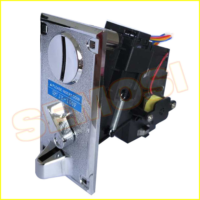 2PCS/LOT CPU Comparable Coin Acceptor Electronic Coin Selector for Arcade Game Slots Machine Coin Operated Games JY-100F 2