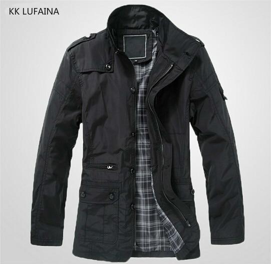 men s autumn brand polo jackets winter warm mens jackets and coats outwear  waterpr collar overcoat 2018 clothes plus 4xl 5xl c1d485f16