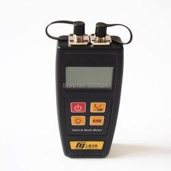 YJ-550C волоконно-оптический мини мультиметровый оптический измеритель мощности-50 ~ + 26dBm с визуальным дефектоскоп 50 мВт