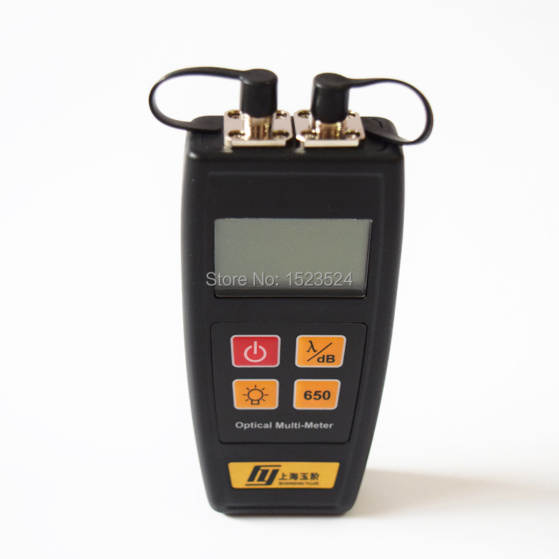 YJ-550C Fiber Optic Mini Multi-meter Optical Power Meter -50~+26dBm With Visual Fault Locator 1mw 10mw 30mw 50mw