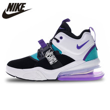 d97bfbdfb93a7 Nike Air Force 270 Sports Shoes White Green Purple Running Shoes for Men  AH6772-005