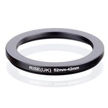 RISE (UK) 52mm 42mm 52 42mm 52 om 42 Step down Ring Filter Adapter black