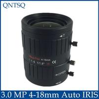 3MP Lens To Meet HD Network Cameras 4 18mm Auto Iris Lens 1 1 8 C